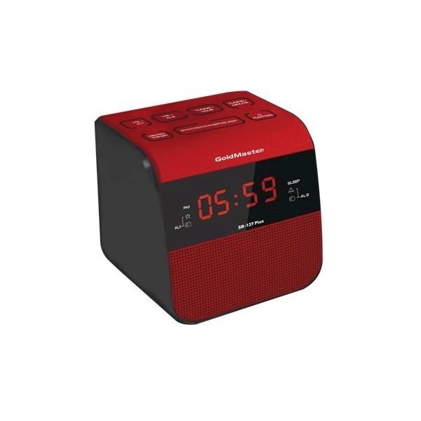 Goldmaster R-137 Plus Portatif Radyo-Alarm Ses Sistemleri