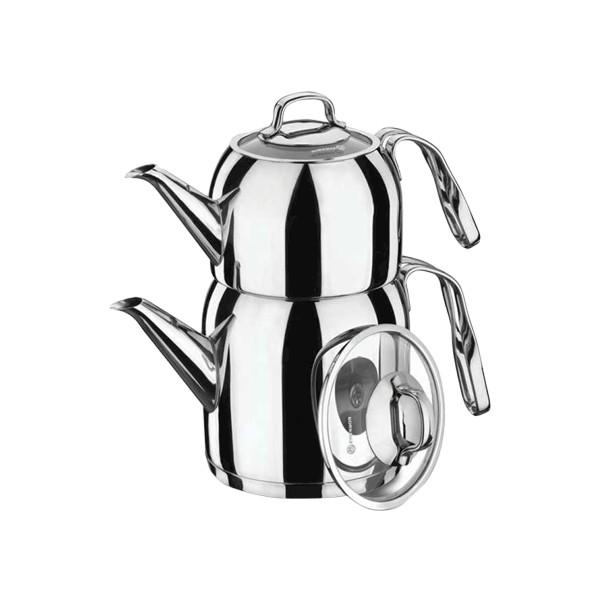 Korkmaz A191 Steama Çaydanlık Takımı