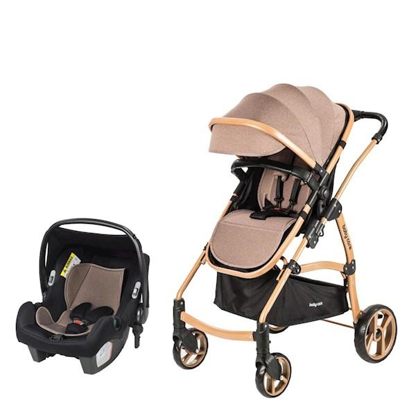 Baby Care Astra Safe Trıo BC-41 Renk N (Oto Koltuklu) Bebek Arabası