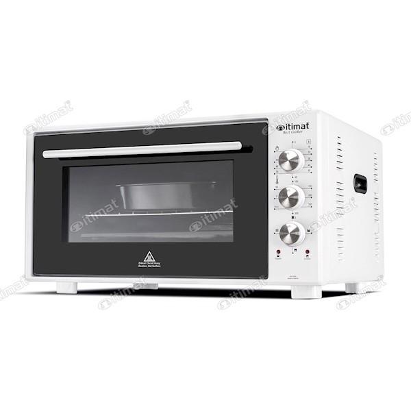 İtimat 8020 Mini Fırın Çift Camlı (50 Lt) Beyaz