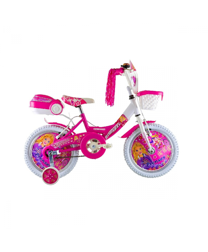 Borabay First-Prenses 157 Pembe 16 Jant Bisiklet
