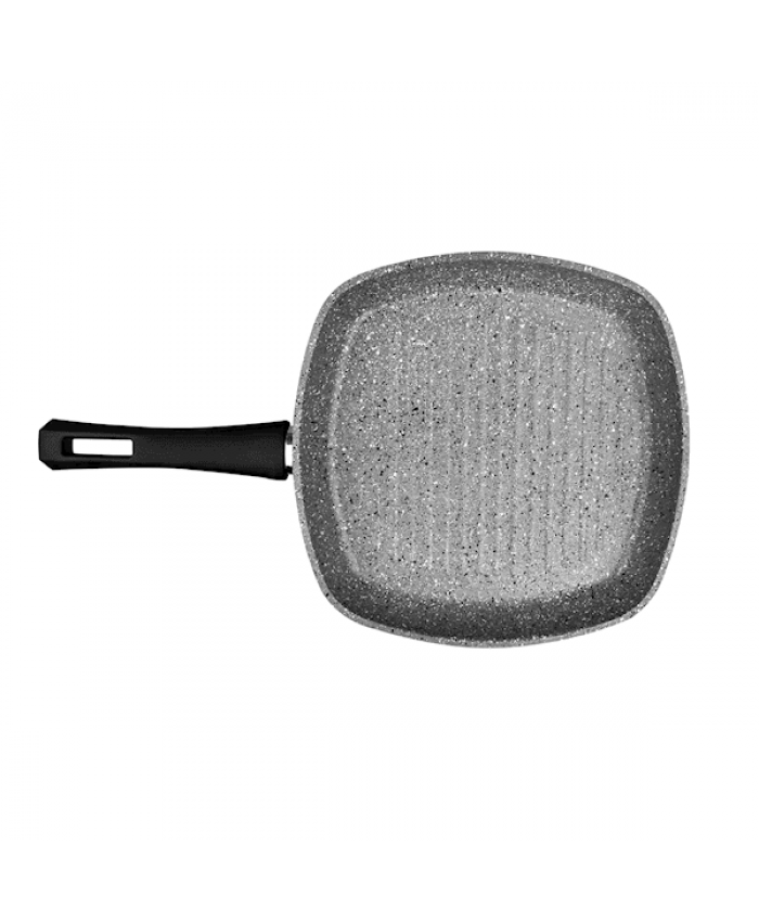 Karaca Grey Stone Bio Granit Grill 28 Cm - FIRSAT ÜRÜNÜ