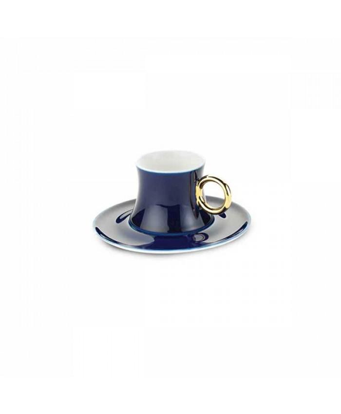 Korkmaz A8661 Freedom 6'lı Kahve Fincan Takımı Mavi