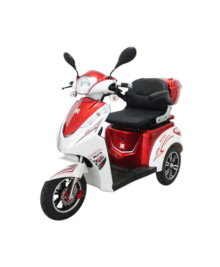 Kral KR-11 Kırmızı Rey 5000 3 Teker Elektrikli Motorsiklet