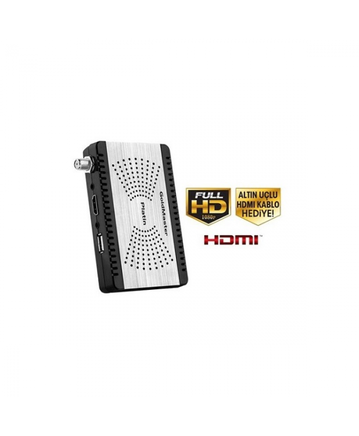 Goldmaster Platın Full HD Uydu Alıcısı