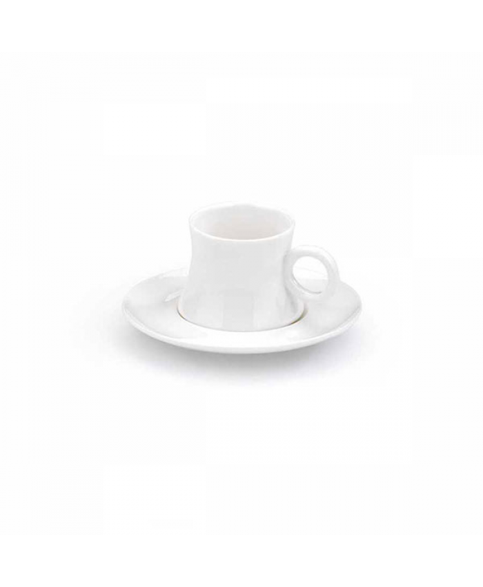 Korkmaz A8645 Freedom 6'lı Kahve Fincan Takımı Beyaz