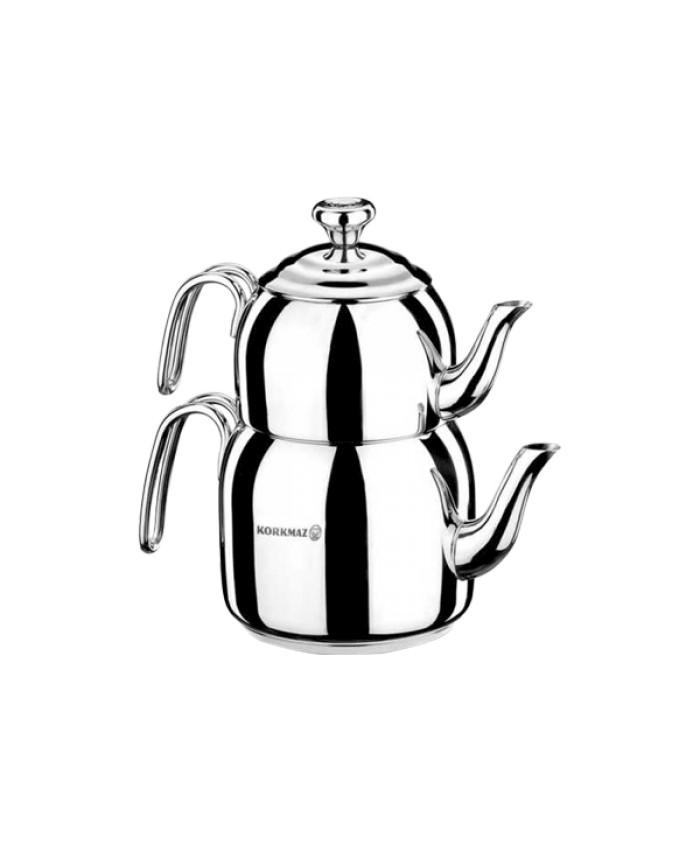 Korkmaz A056 Droppa Midi Çaydanlık Takımı