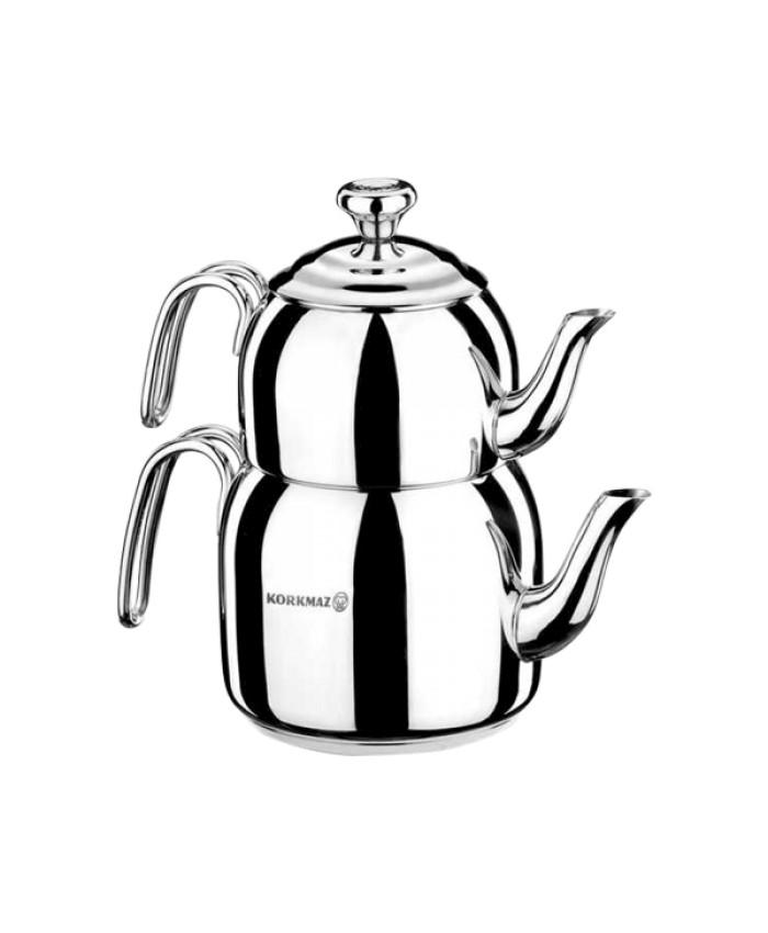 Korkmaz A057 Droppa Maksi Çaydanlık Takımı