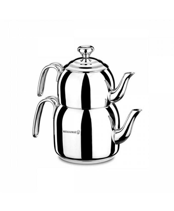 Korkmaz A058 Droppa Mega Çaydanlık Takımı