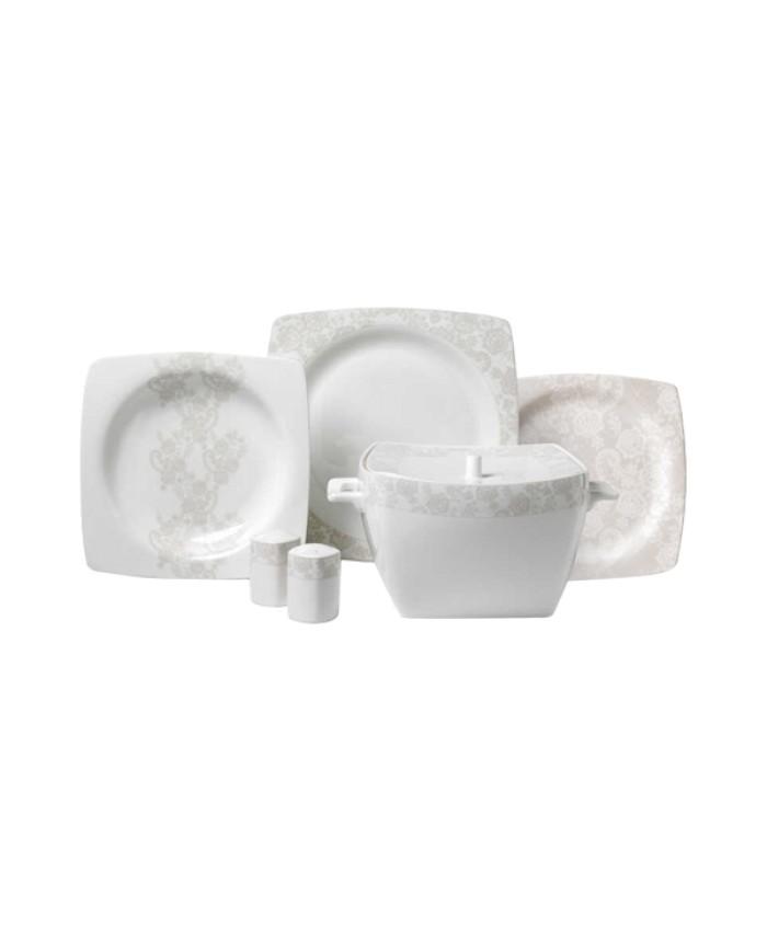 Korkmaz A8430 Bone Selection 60 Parça Yemek Takımı