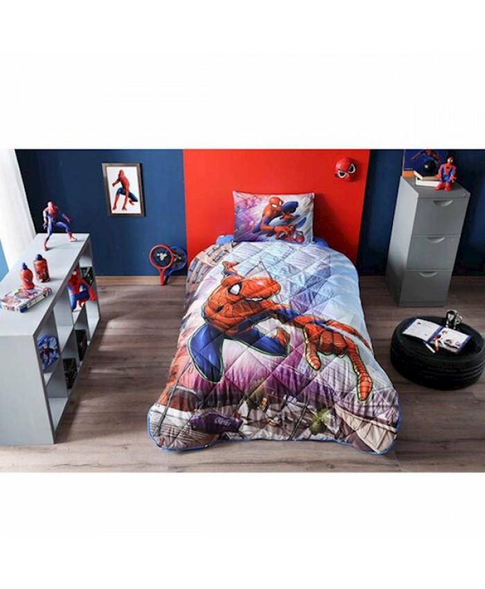 Taç 60185854 Spiderman Yorgan Seti