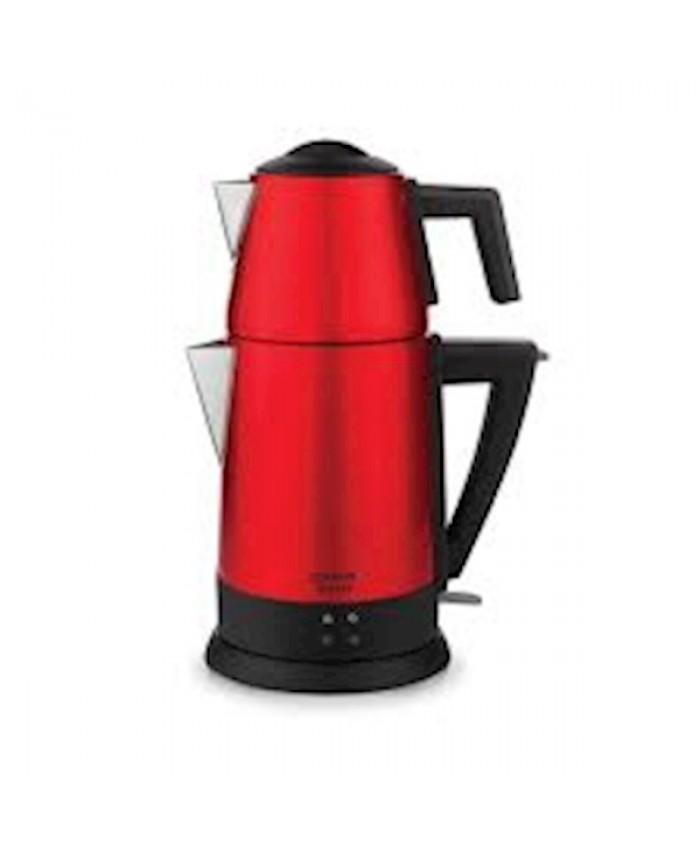 Schafer Teepoint Elektrikli Çay Makinesi Kırmızı