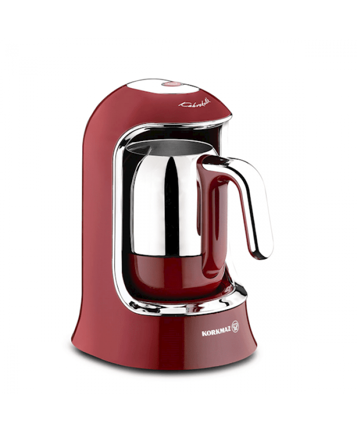 Korkmaz A860-03 Kahvekolik Otomatik Kahve Makinesi Kırmızı