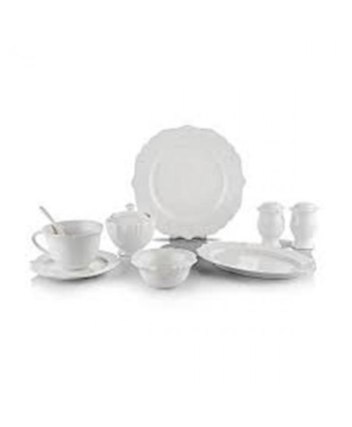 Schafer 1S506 02001 BYZ02 Naiv Kahvaltı Takımı 34 Parça Beyaz