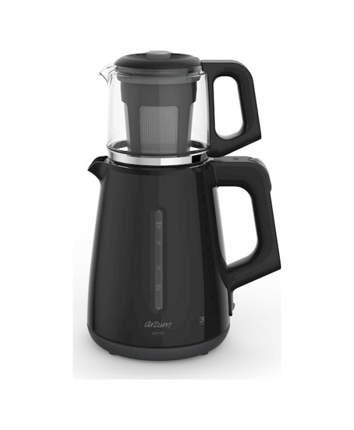 Arzum AR3061 Çaycı Çay Makinesi Plastik Siyah
