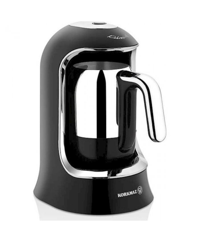 Korkmaz A860-07 Kahvekolik Otomatik Kahve Makinesi Siyah