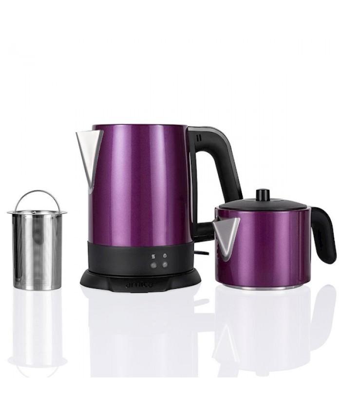 Arnica Demli Çay Makinesi Mor