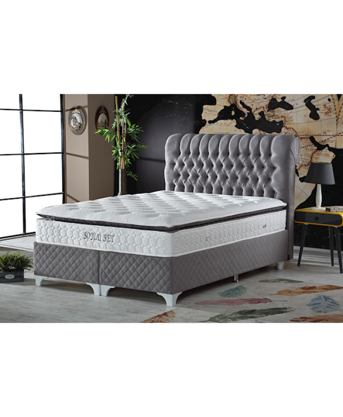 Mr.Sleep Avalanche Soylu Set 150x200 GRİ