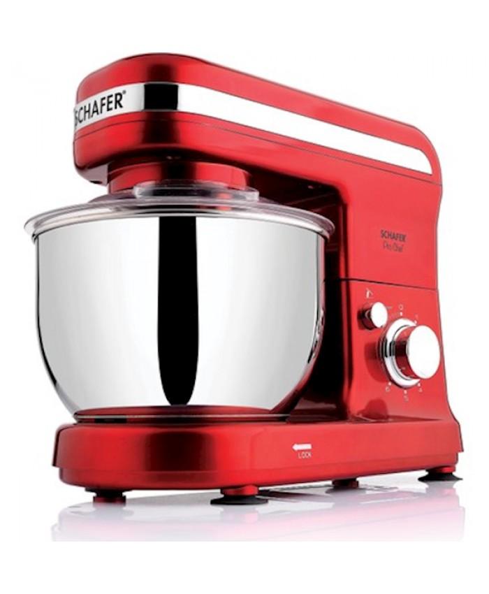Schafer Pro Chef XL Standlı Mikser Kırmızı