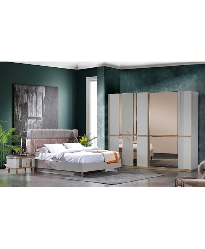 Vize Boyut Yatak Odası Takımı Bazalı