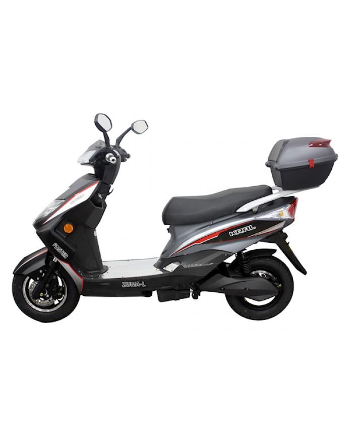 Kral Kr-203 Tongo L Elektrikli Motorsiklet Gri