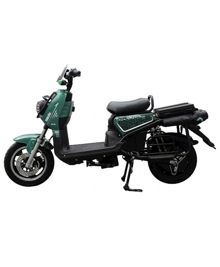 Kral Kr-201 Kelvin 5000 Elektrikli Motorsiklet Yeşil