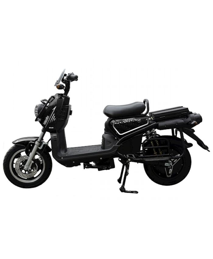 Kral Kr-201 Kelvin 5000 Elektrikli Motorsiklet Siyah