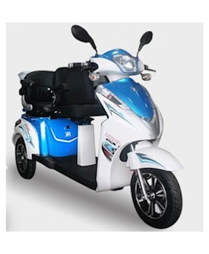 Kral Kr-12 Vesta 2 Elektrikli Motorsiklet Mavi
