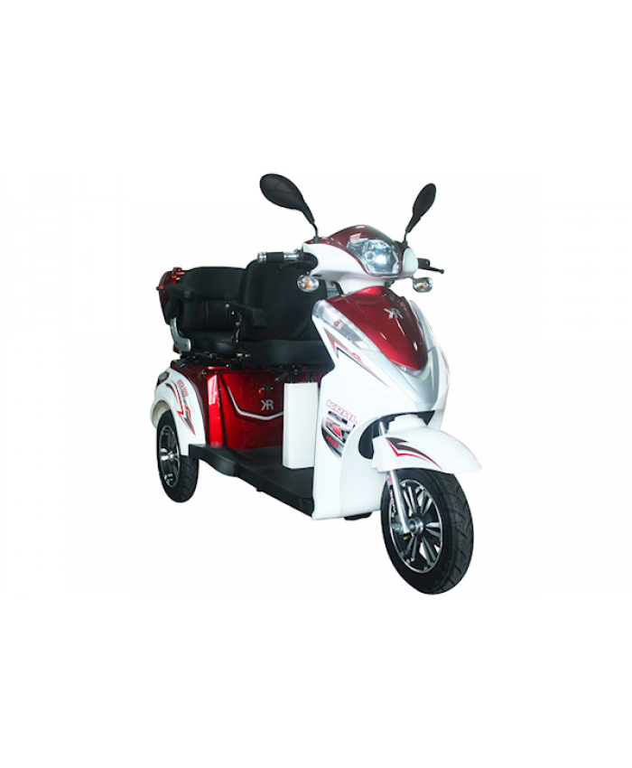 Kral Kr-12 Vesta 2 Elektrikli Motorsiklet Kırmızı