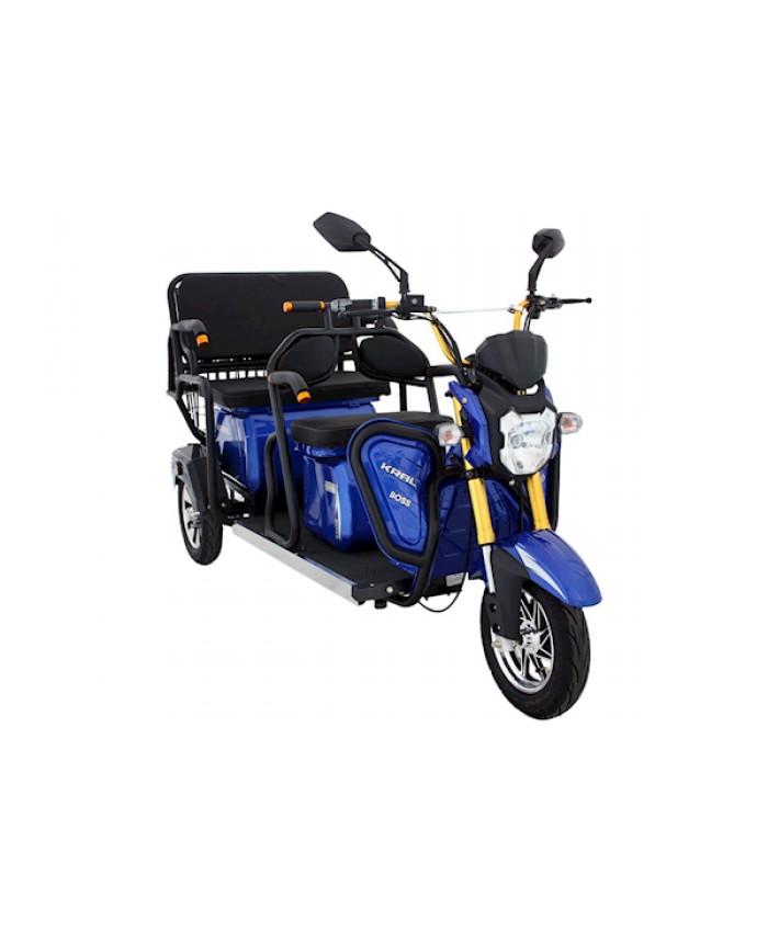 Kral Kr-53 Venetta L Elektrikli Motorsiklet Mavi