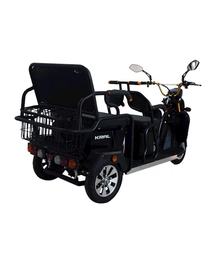 Kral Kr-53 Venetta L Elektrikli Motorsiklet Siyah