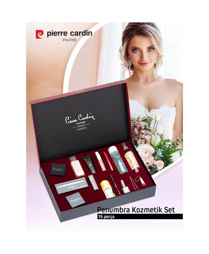 Pierre Cardin 99068 Penumbra Bayan Kozmetik Çeyiz Seti 15'li