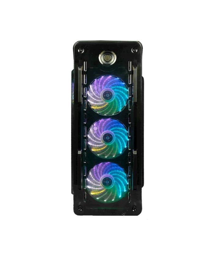 Technopc Quantum Gaming İ3 İşlemci 9100 8 gb Ram 240 Ssd Rx 550 / Gt730 4 Gb Ekr Freedos Siyah Kasa