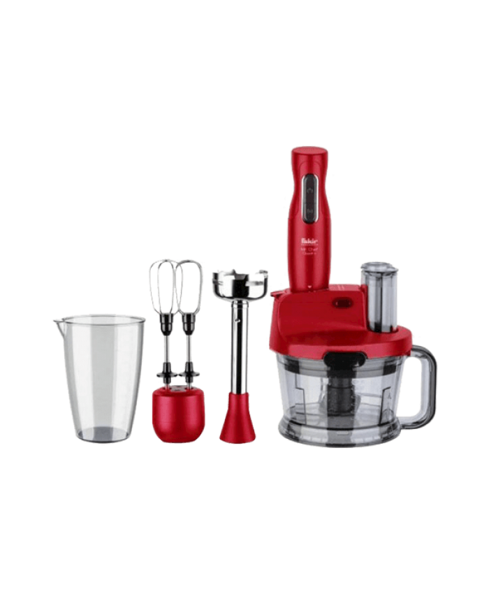 Fakir Mr Chef Quadro Blender Set Kırmızı