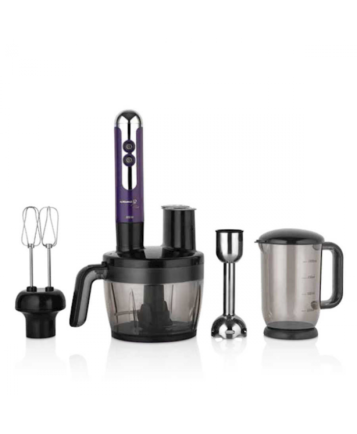 Korkmaz A457-04 Mia Multi Blender Set Lavanta/krom